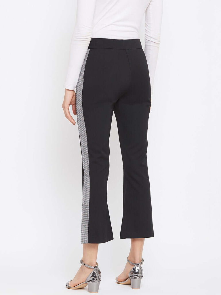 Camla Black Color Trouser For Women