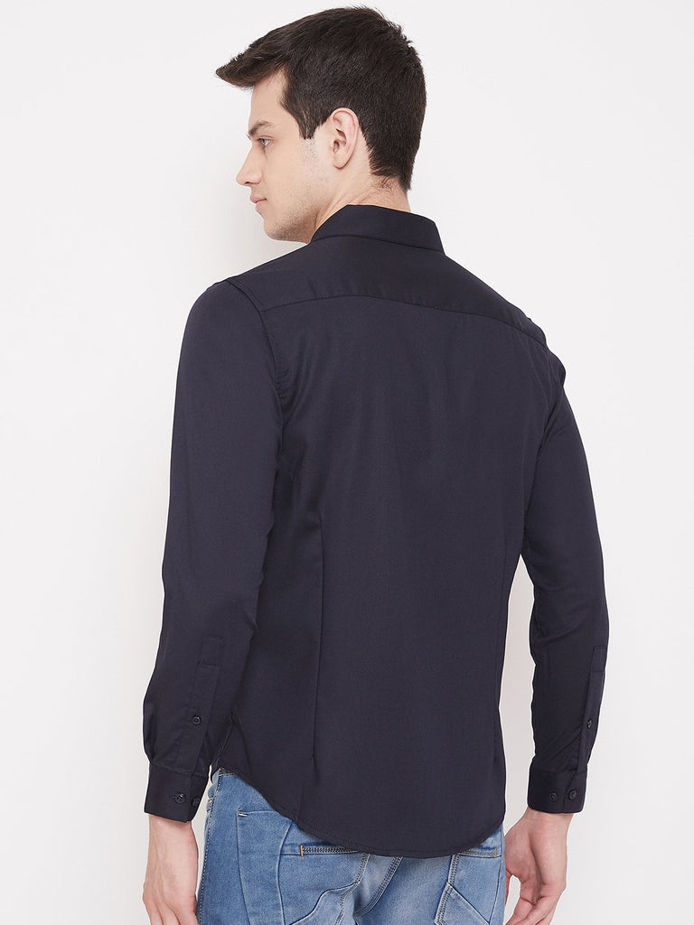 CAMLA NAVY Color Shirt For Mens