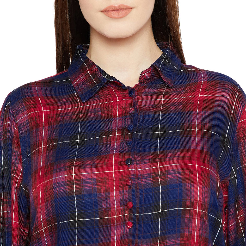 Madame Checked Shirt