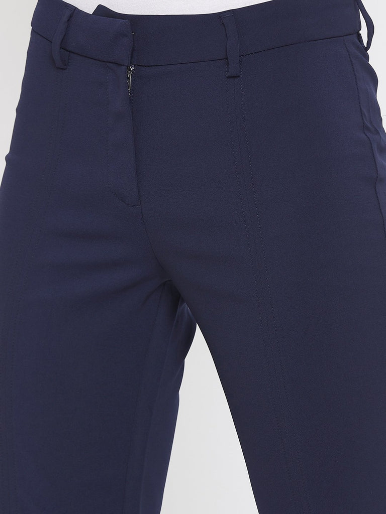 Camla Navy Color Trouser For Women