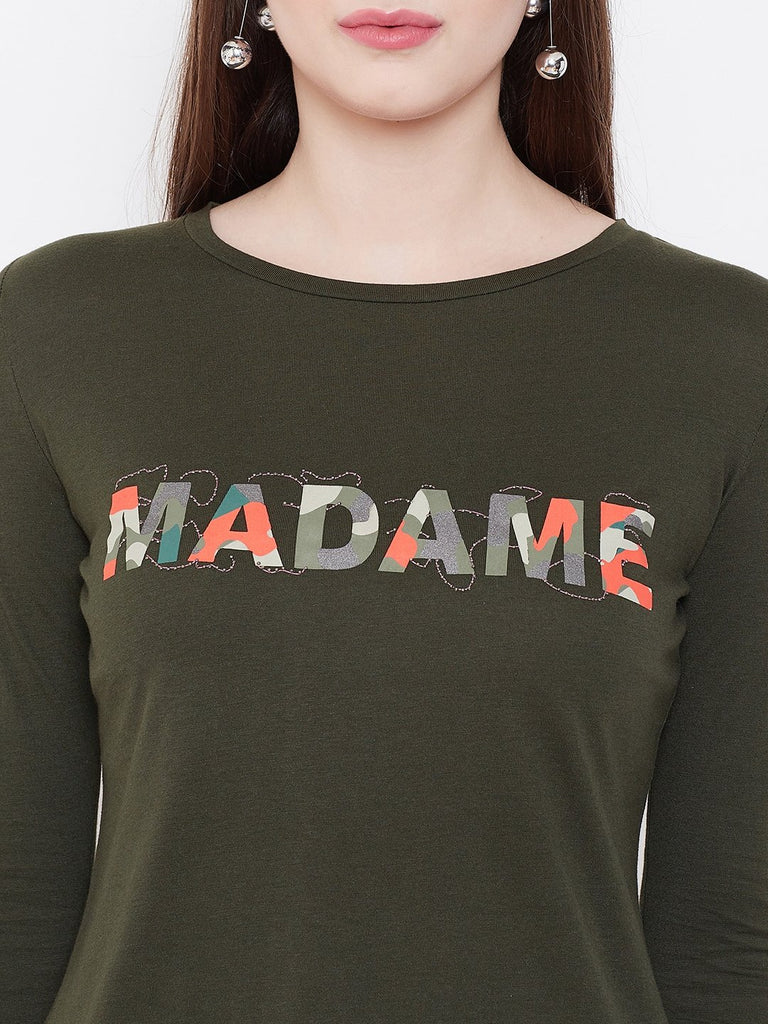Madame Olive Color top