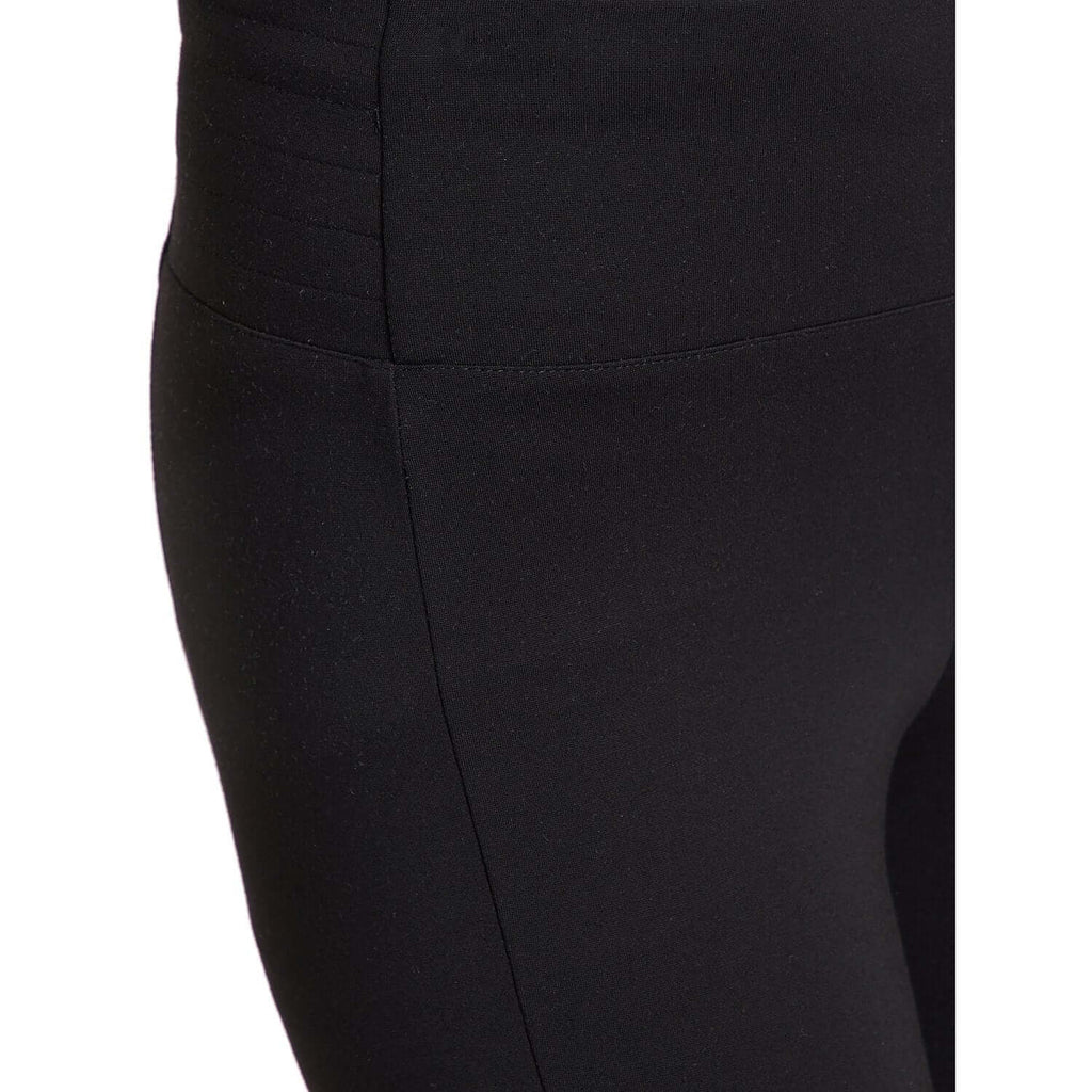 Black Solid Skinny Fit Trouser