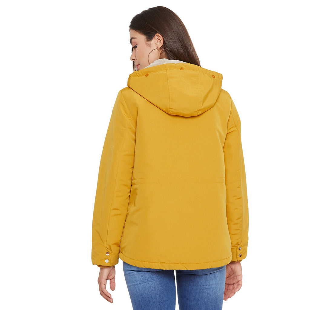 Madame Gold Color  Jacket For Women