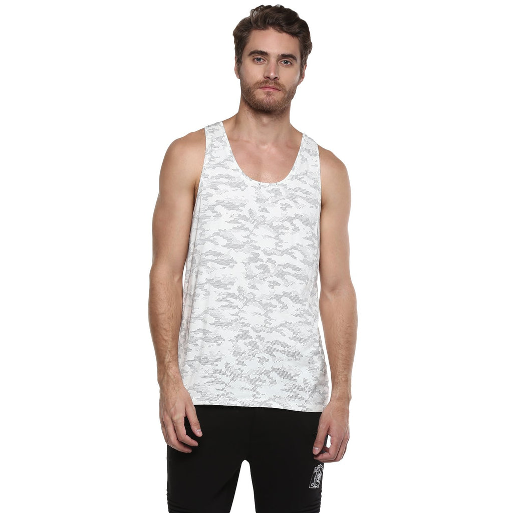 Camla Mens White T-Shirt