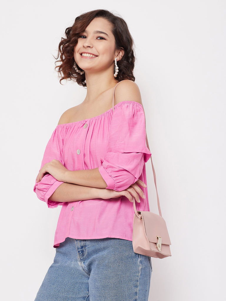 Madame Pink Color top