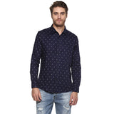 Camla Mens Casual Printed Shirt