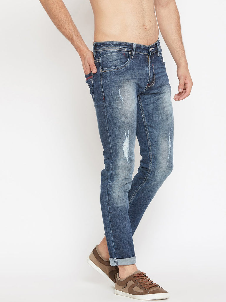 Camla Navy Denim Jeans
