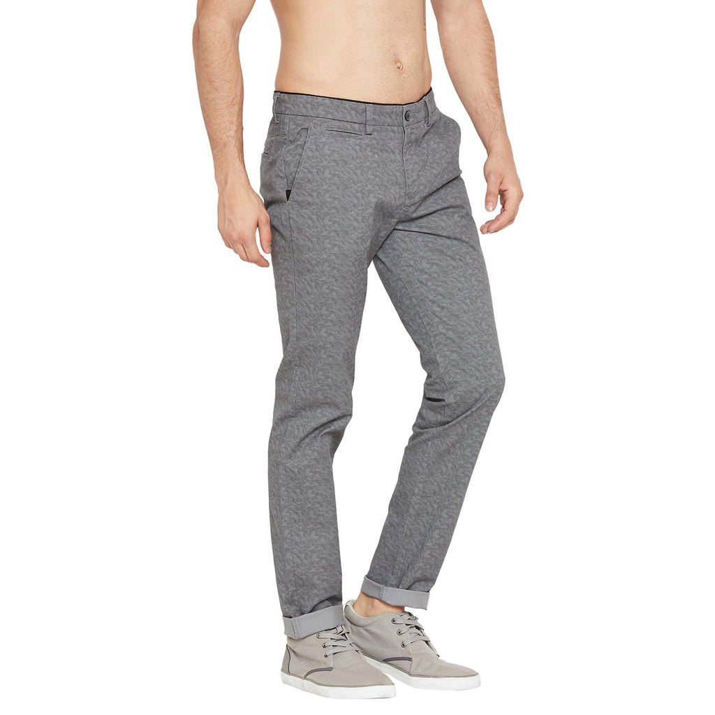 Camla Men Grey Casual Trousers