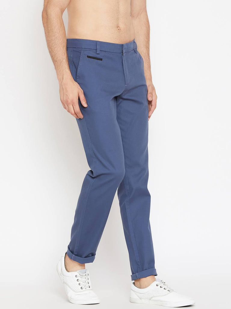 Camla Mens Blue Trousers