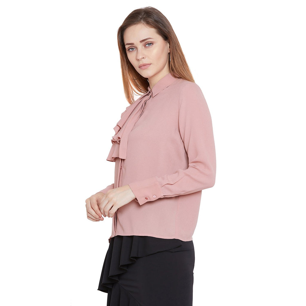 Camla Women Dusty Pink Shirts