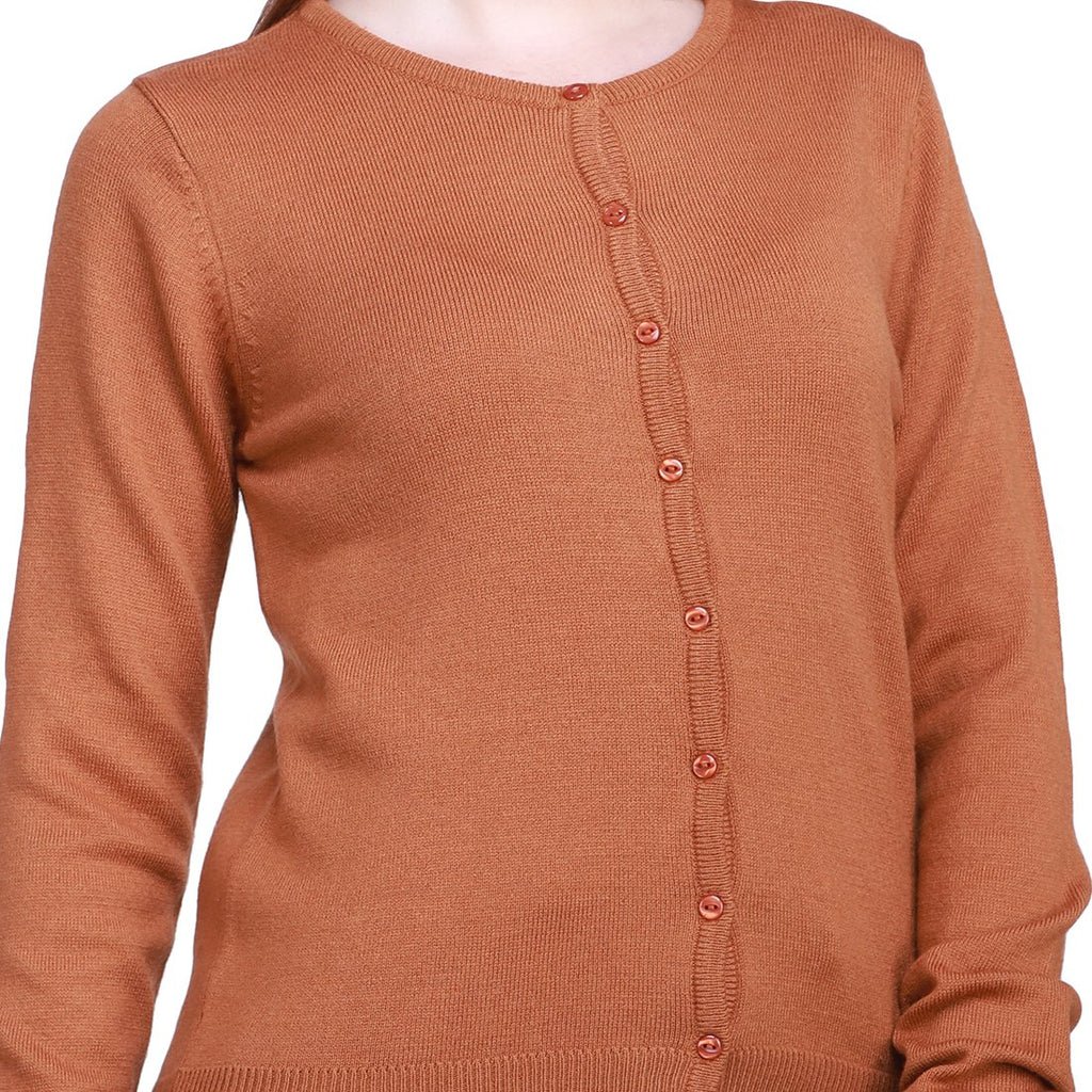 Madame Adove Color Cardigan For Women