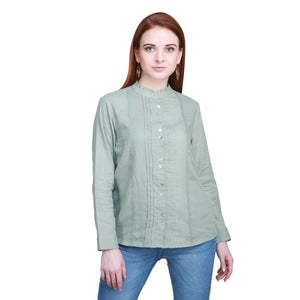 Madame Women Green Textile Top