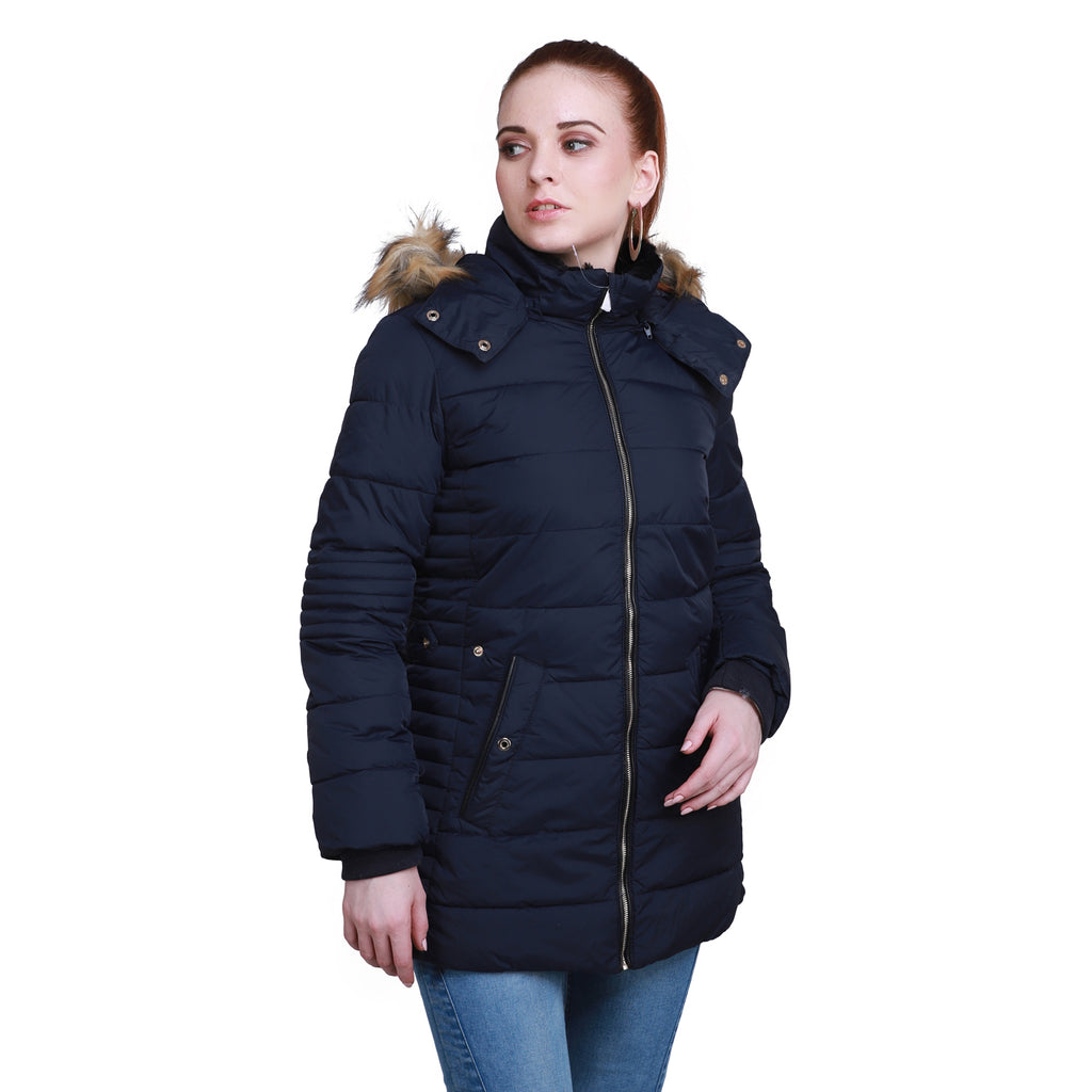 Madame Women Navy Jacket