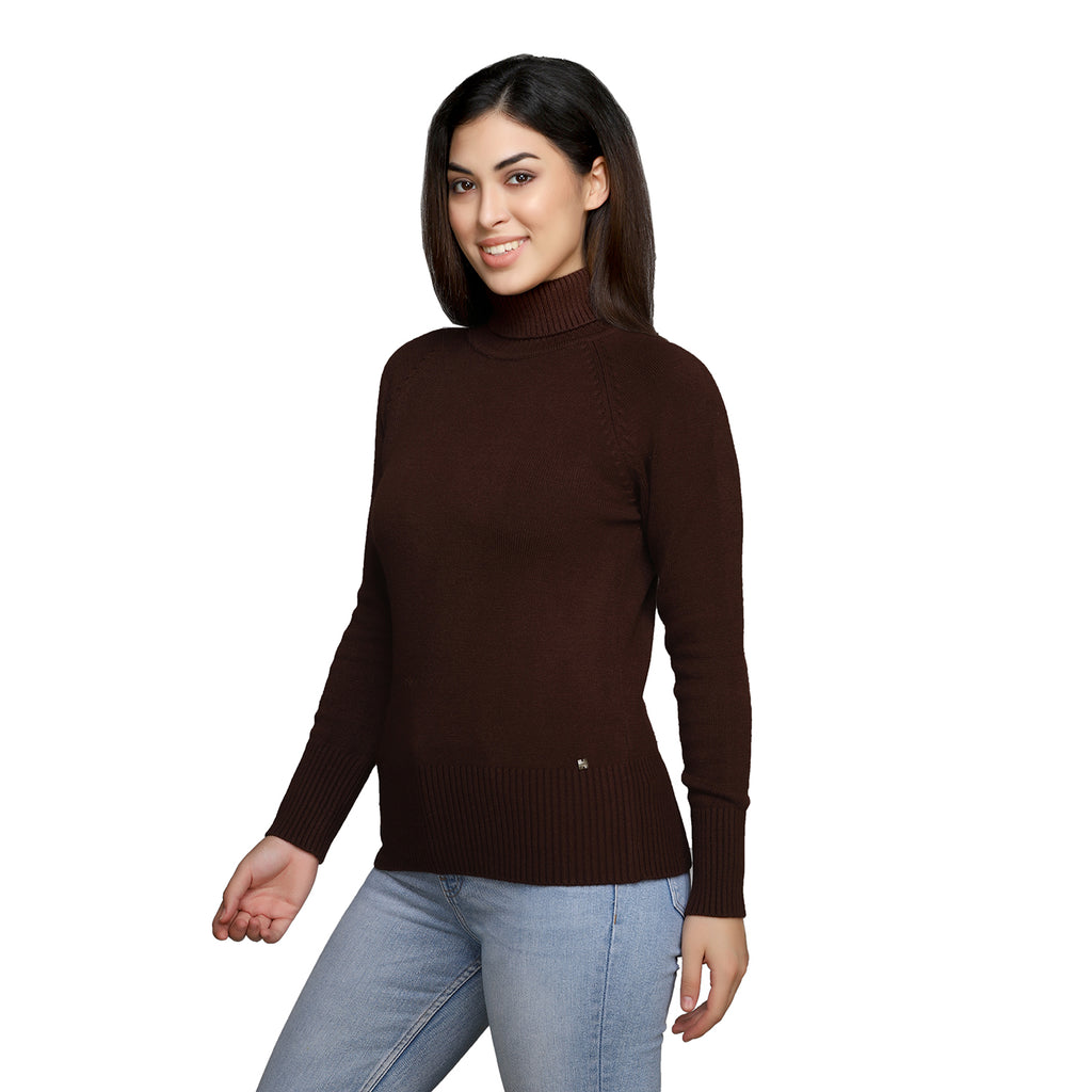Madame Women Coffee Sweater