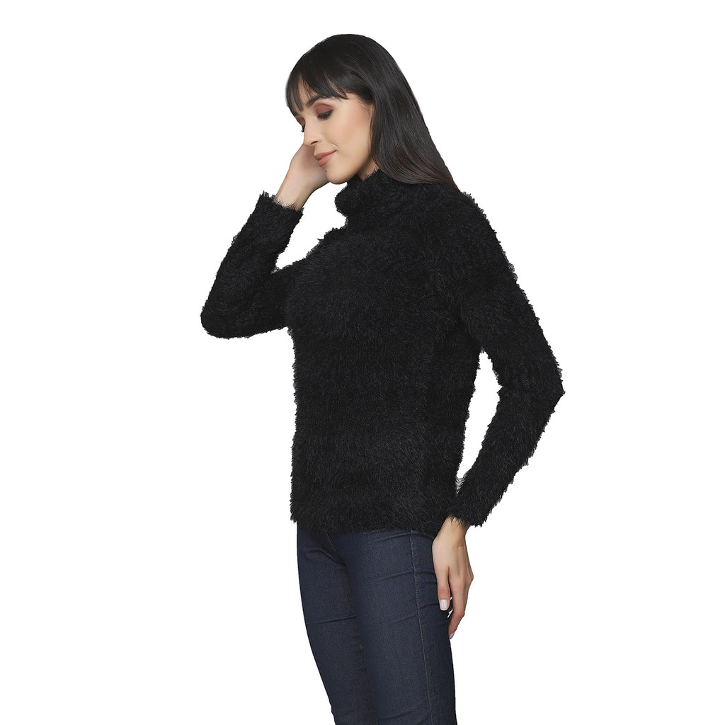 Madame Women Black Sweater