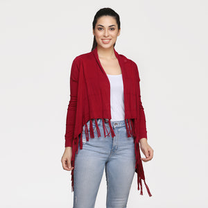 Madame Women Cherry Shrug