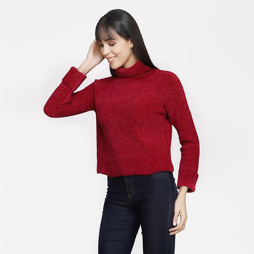 Madame Women Cherry Sweater