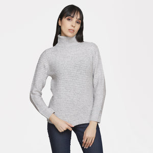 Madame Women Grey Sweater
