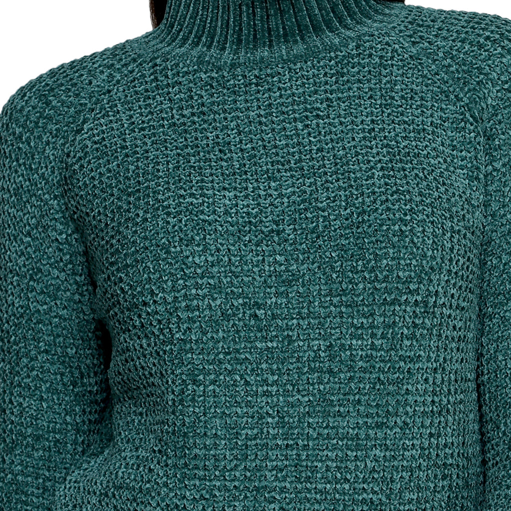 Madame Women Green Sweater