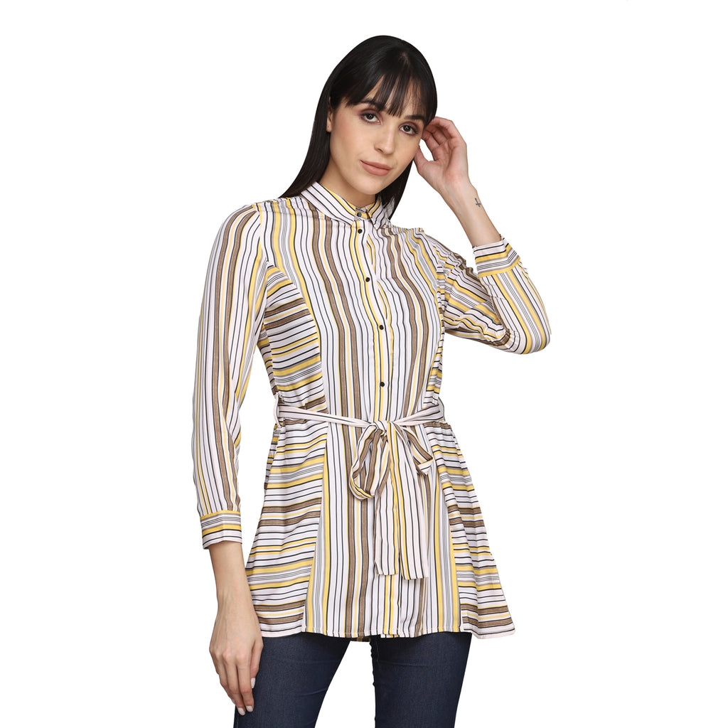 Madame Women Mustard Shirts