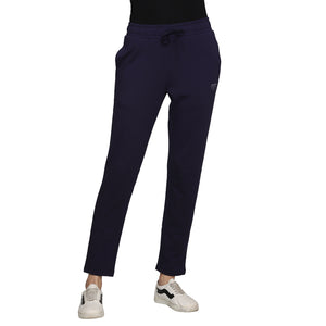 Madame Women Navy Track Bottoms