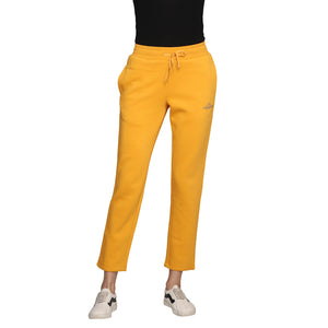 Madame Women Mustard Track Bottoms
