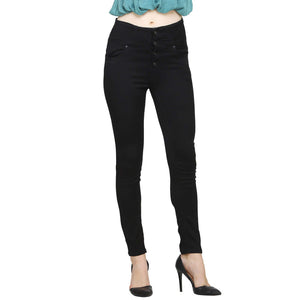 Black Color Denim for women