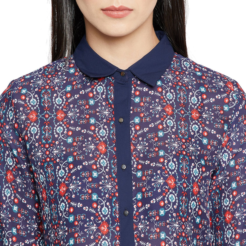 Multicolored Printed Shirt