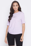 Madame Mauve Color Top For Women