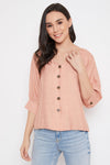 MADAME PINK TEXTILE TOP For women