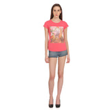 Madame Women Pink Printed Top