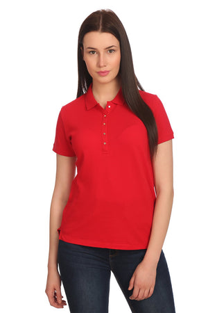 Madame Womens Red Top H/S