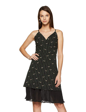 Madame Womens Black Dress