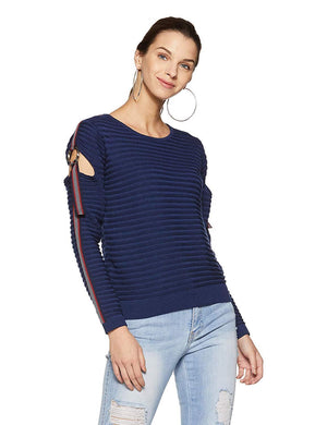 Madame Navy Sweater for Women