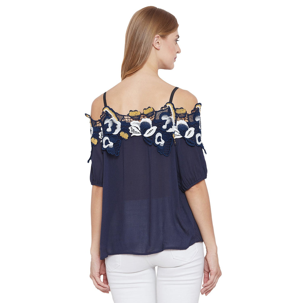 Madame Solid Textile Top