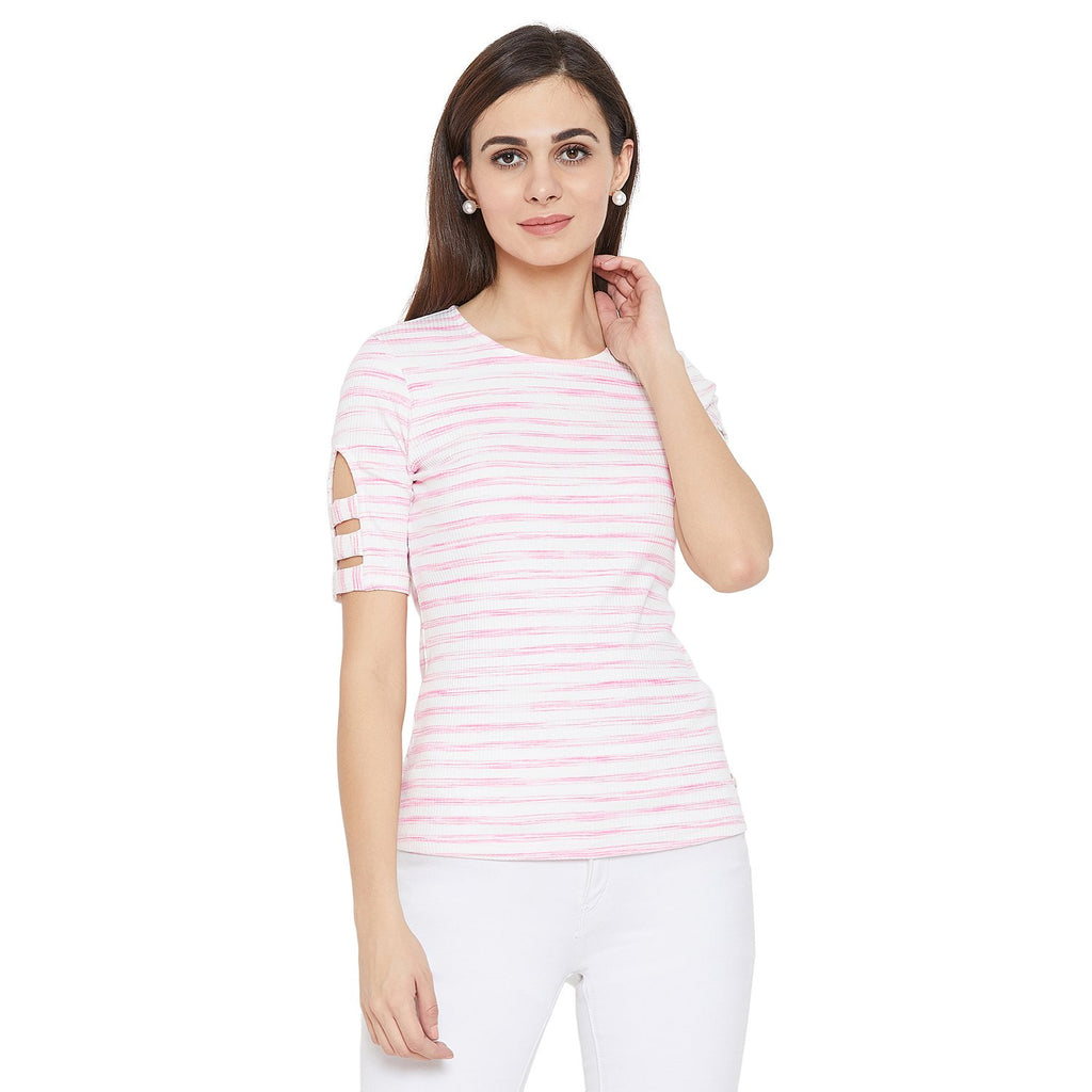 Madame Pink Casual Top