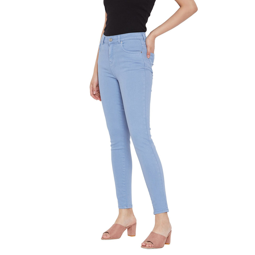 Madame Solid Ankle Denim Jean
