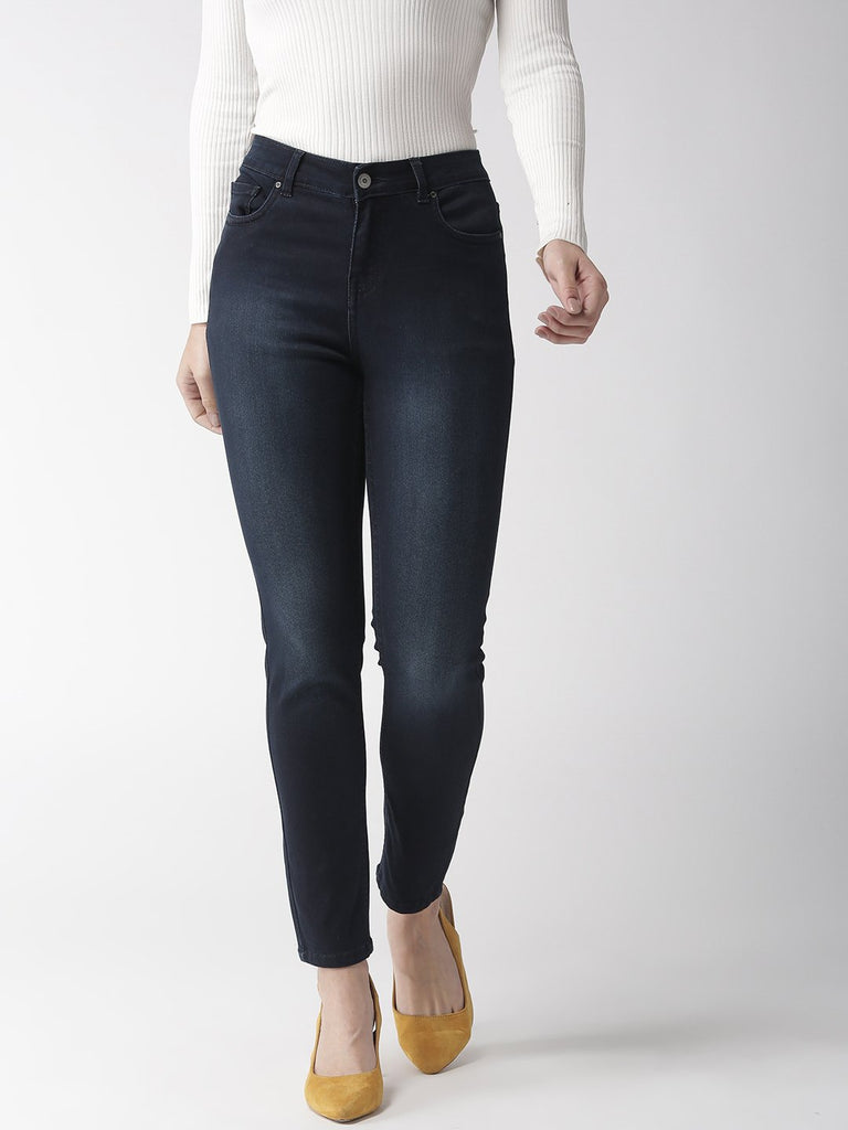 Madame Denim Ice Blue Color Denim Jeans