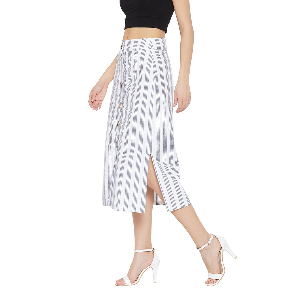 Madame WHITE Casual Skirt