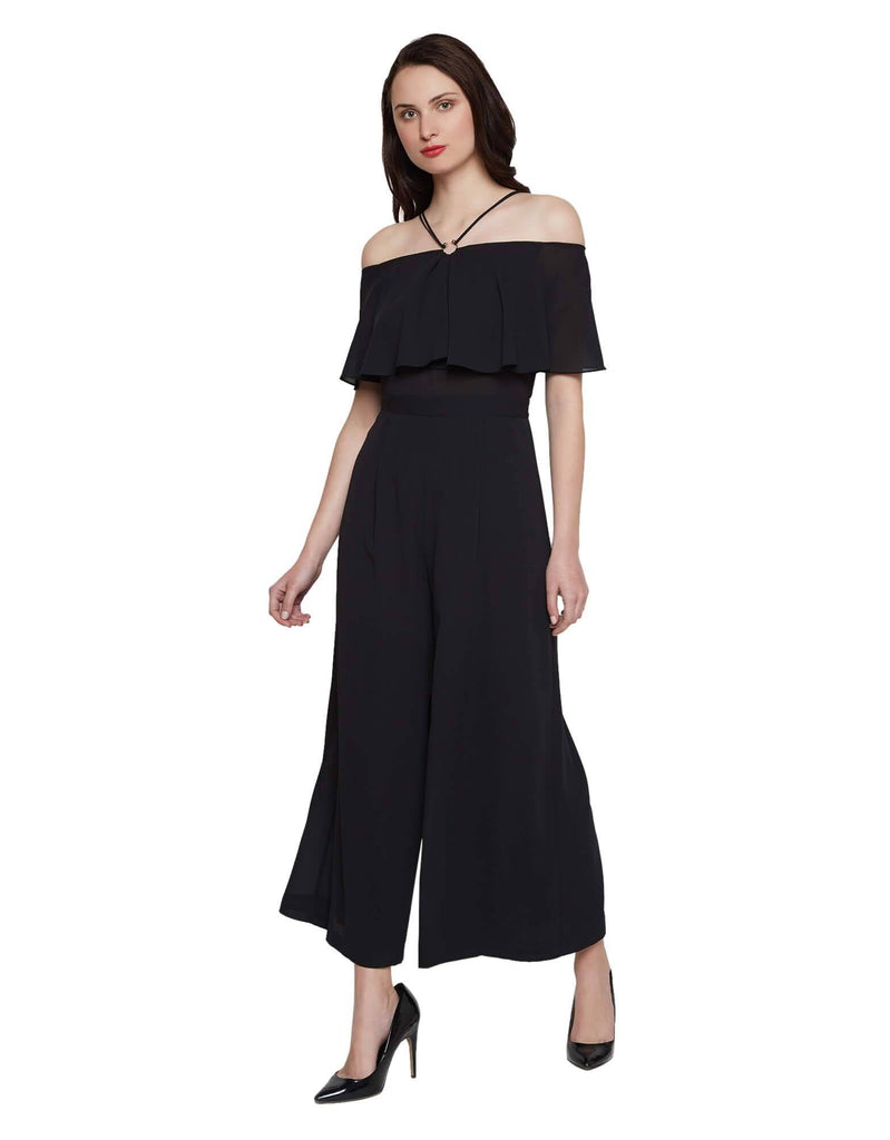 Madame Black Jumpsuit