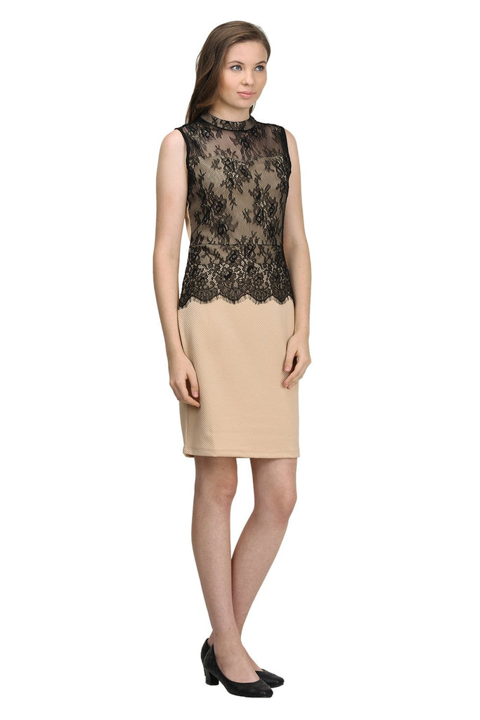 Madame Women Beige Dress