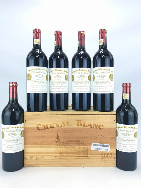 Cheval Blanc 2002 6-Pack OWC 750mL