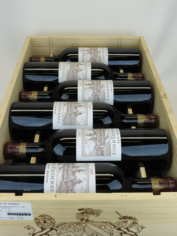 Cos d'Estournel 2009 12-Pack OWC 750mL