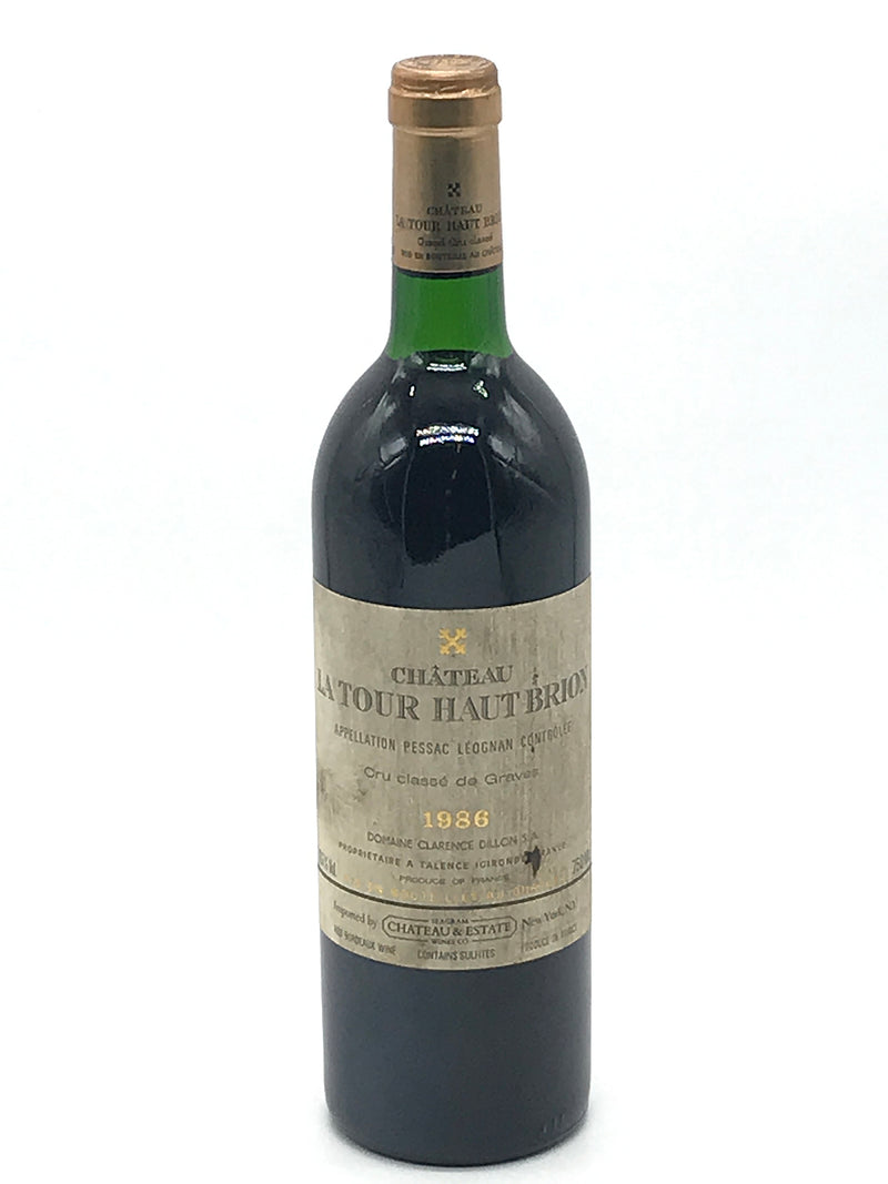 La Tour Haut Brion 1986 750mL (Bin Soiled Label)