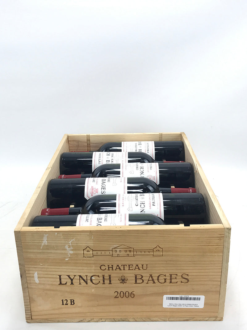 Lynch Bages 2006 12-Pack OWC 750mL