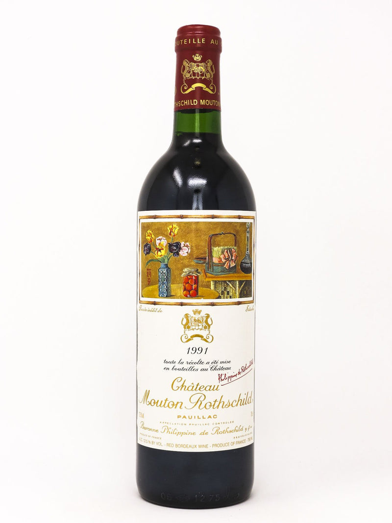 Chateau Mouton 1991 750mL