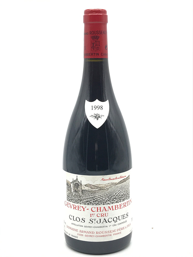 Armand Rousseau Clos St. Jacques 1998 750mL