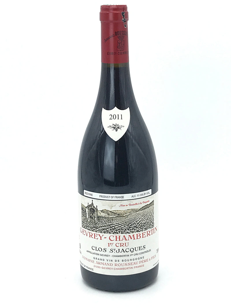 Armand Rousseau Clos St. Jacques 2011 750mL (nicked capsule)
