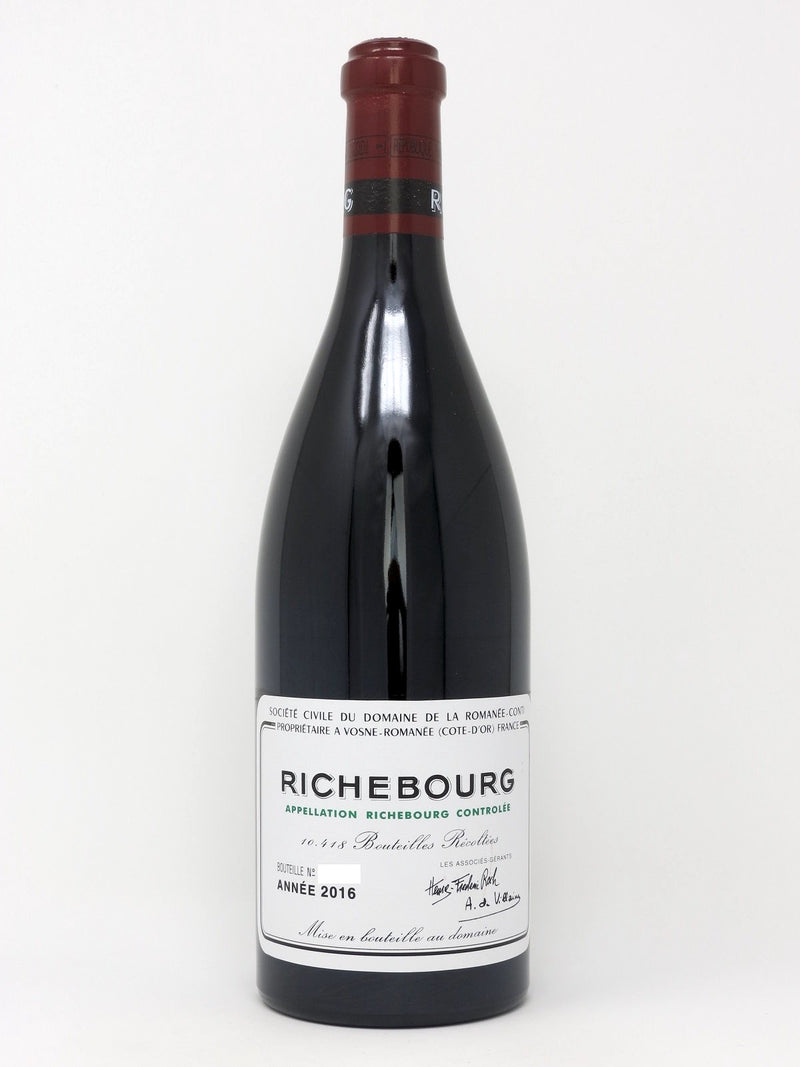 DRC Richebourg 2016 750mL