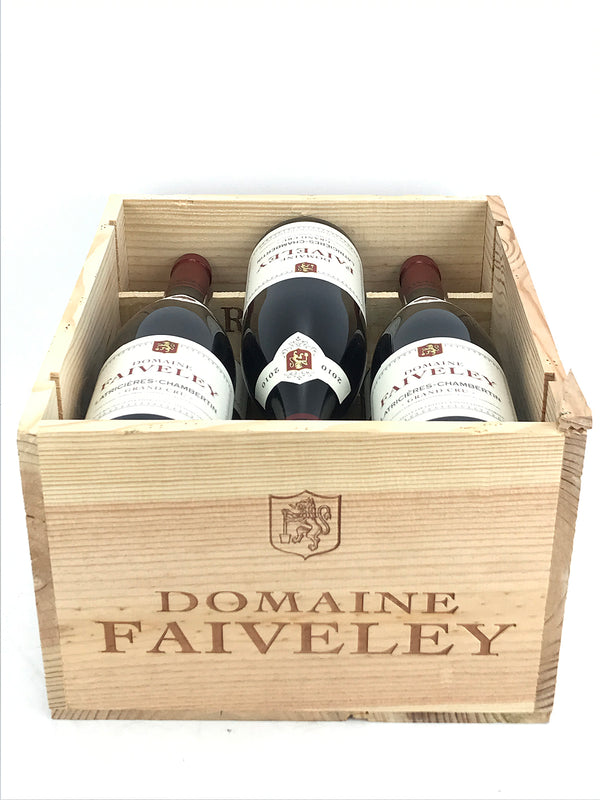 Faiveley Latricieres Chambertin 2010 6-Pack OWC 750mL
